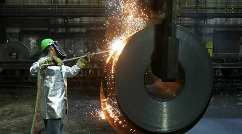 June core output jumps 8.9% on low base, high natural gas, steel output