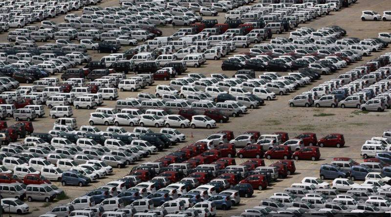 Leading auto makers post double-digit sales growth in July